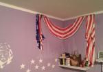 Kinderzimmer, Amerikanische Flagge